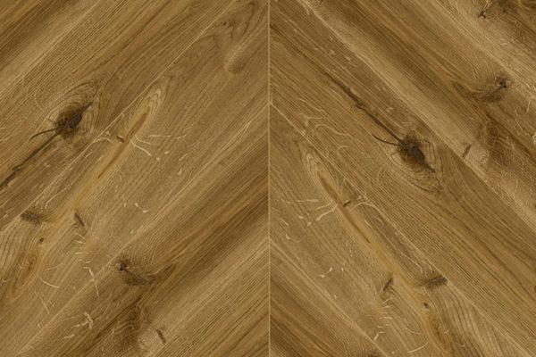 Массивная доска елочка Дуб CLASSIC селект 100 мм