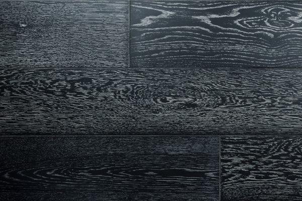 Дуб Черный натур инженерная доска 2-х слойная 15 мм