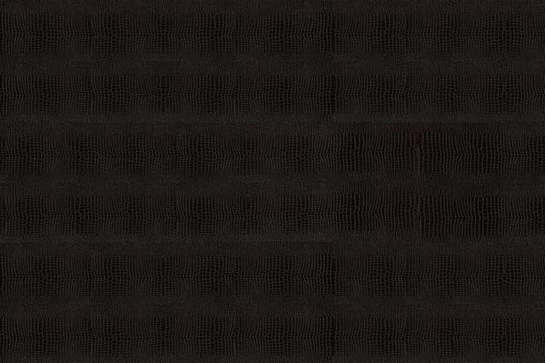 Клеевой кожаный пол Kroko Black