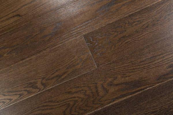 Паркетная доска Oak dark brown