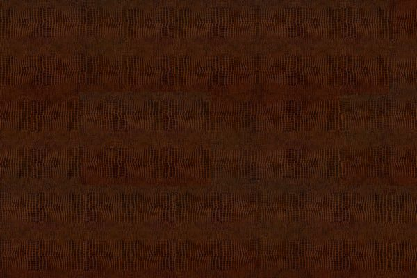 Кожаные полы Kroko Redbrown