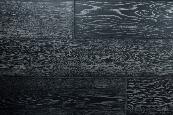 Дуб Черный натур инженерная доска 2-х сл. шир. 150 мм на замке