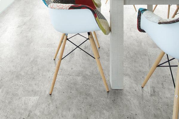 Клеевой пробковый пол Cement