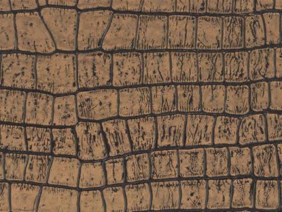 Клеевой кожаный пол Alligator Gold