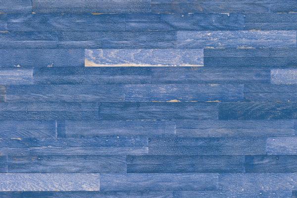 Паркетная доска UnoPark Oak Intense Blue матовый лак