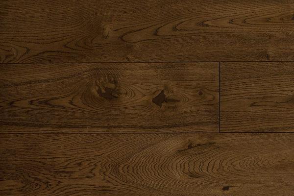 Массивная доска Дуб DUNKELBRAUN селект 140 мм