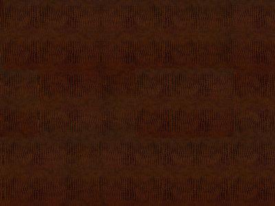 Клеевой кожаный пол Kroko Redbrown