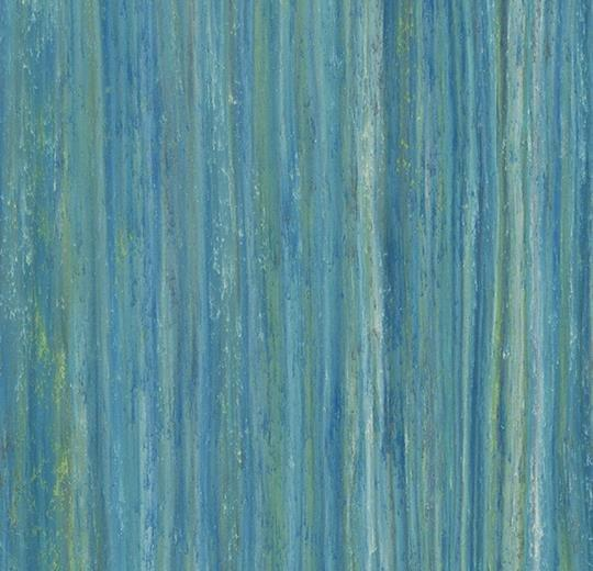 Натуральный линолеум 5243 peacock blue (Forbo Marmoleum Striato), м²
