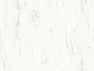 ПВХ-плитка Quick-Step Quick Step LIVYN Ambient Glue Plus AMGP 40136 Мрамор каррарский белый
